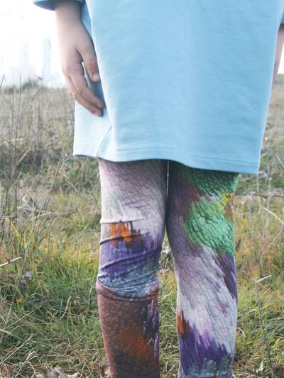 Leggings Digital Cubic
