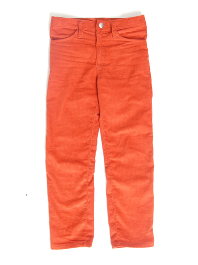 Byxor Slim fit, manchester orange