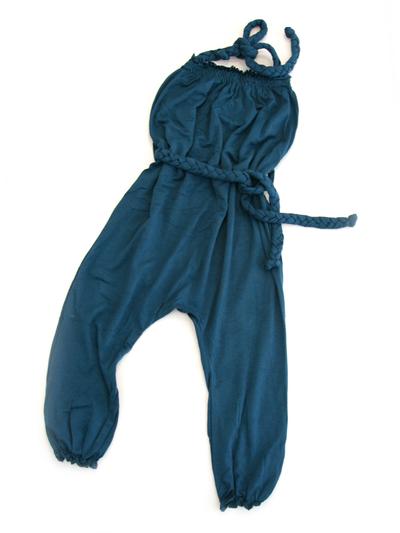 Jumpsuit Sommar, mörkblå 6 mån
