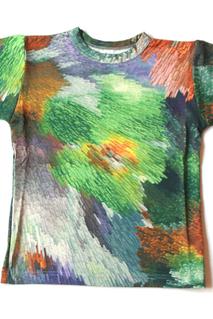 T-shirt Digital Cubic