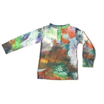 Grandpa Shirt, Cubic Digital print
