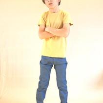 T-shirt, Musterd yellow