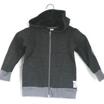 Hoodie Dark Grey Jogging, Look at me