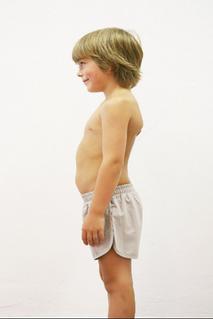 Shorts/badbyxor EKO Popupshop, ljusgrå 7-8 år