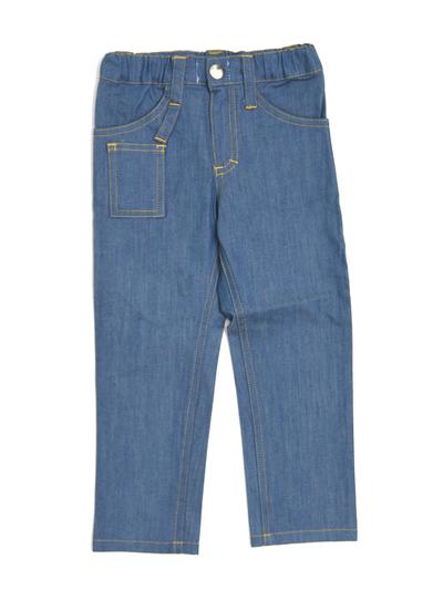 Byxor Slim fit 5 pocket, denim ljusblå
