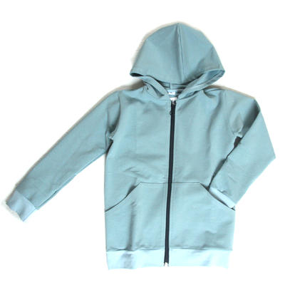 Hoodie Blue Thin Jogging