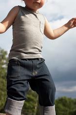 Jeans Slim fit 5 pocket, mörkblå
