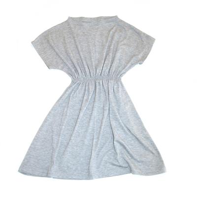 Klänning med resår, grå