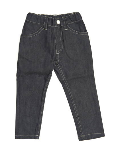 Byxor Slim fit, denim mörk