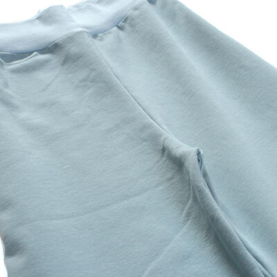 Soft Trousers, Blue Thin Jogging