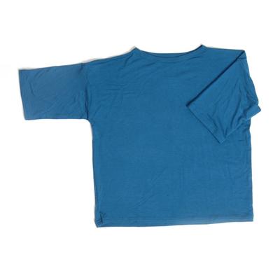 T-shirt vid, mörkblå