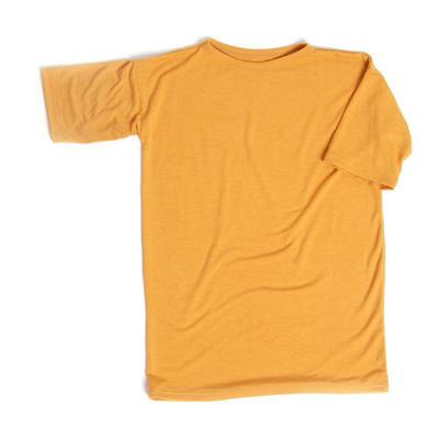 T-shirt dress Yellow, Look at me