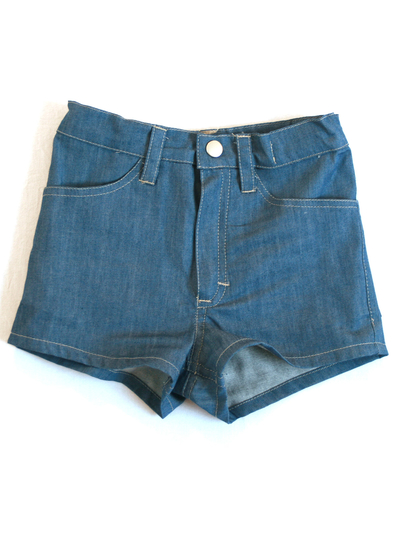 Shorts, denim ljus
